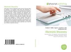 Обложка Electronic Discovery