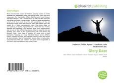 Обложка Glory Daze