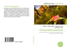 Bookcover of Conservation easement