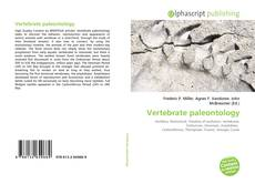 Bookcover of Vertebrate paleontology