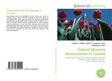 Bookcover of Federal Minority Governments in Canada