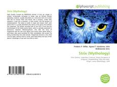 Capa do livro de Strix (Mythology)