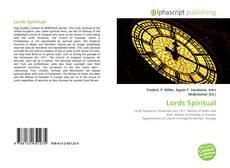 Buchcover von Lords Spiritual