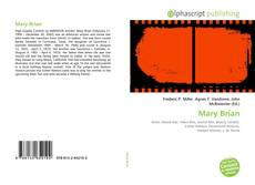 Bookcover of Mary Brian