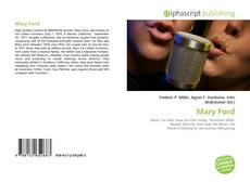 Bookcover of Mary Ford