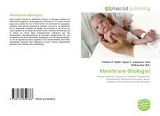 Capa do livro de Membrane (Biologie)