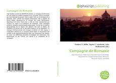 Buchcover von Campagne de Birmanie