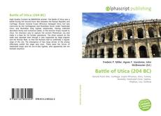 Bookcover of Battle of Utica (204 BC)