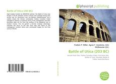 Bookcover of Battle of Utica (203 BC)