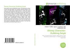 Обложка Disney Character-Dubbing Seiyū