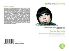 Portada del libro de Donor Portrait