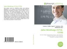 Bookcover of John Winthrop (1714–1779)
