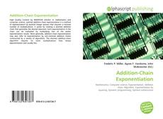Bookcover of Addition-Chain Exponentiation
