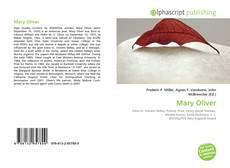 Copertina di Mary Oliver