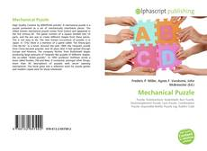 Bookcover of Mechanical Puzzle