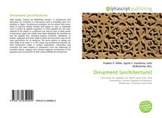 Couverture de Ornament (architecture)