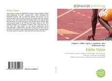 Eddie Tolan kitap kapağı
