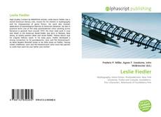 Bookcover of Leslie Fiedler