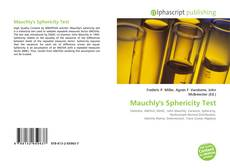 Bookcover of Mauchly's Sphericity Test