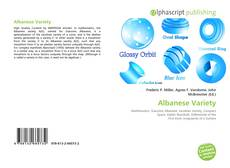 Bookcover of Albanese Variety