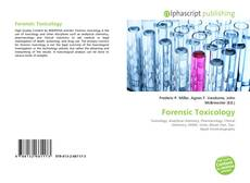 Couverture de Forensic Toxicology