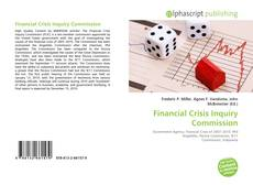 Bookcover of Financial Crisis Inquiry Commission