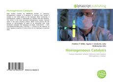 Couverture de Homogeneous Catalysis