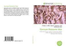 Bookcover of German Peasants' War