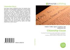 Citizenship Clause kitap kapağı