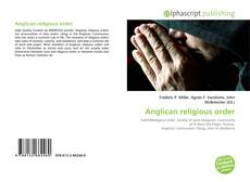 Bookcover of Anglican religious order