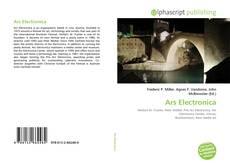 Copertina di Ars Electronica