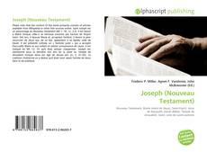 Borítókép a  Joseph (Nouveau Testament) - hoz