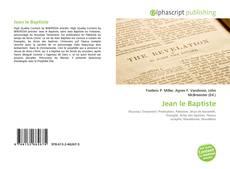 Bookcover of Jean le Baptiste