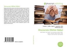 Discourses (Meher Baba)的封面
