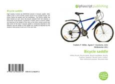 Bookcover of Bicycle saddle