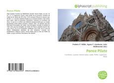 Copertina di Ponce Pilate