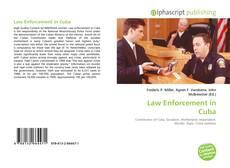 Portada del libro de Law Enforcement in Cuba
