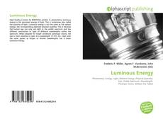 Couverture de Luminous Energy