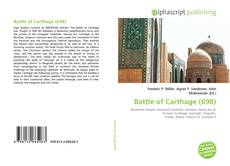 Bookcover of Battle of Carthage (698)