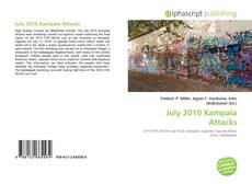 Portada del libro de July 2010 Kampala Attacks