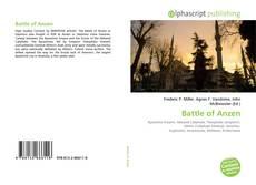 Couverture de Battle of Anzen