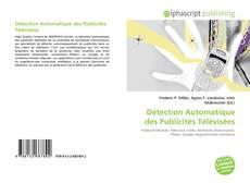 Portada del libro de Détection Automatique des Publicités Télévisées