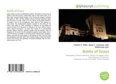 Portada del libro de Battle of Graus