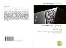 Portada del libro de AltGr key