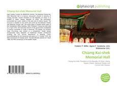 Chiang Kai-shek Memorial Hall kitap kapağı