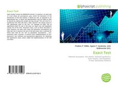 Bookcover of Exact Test