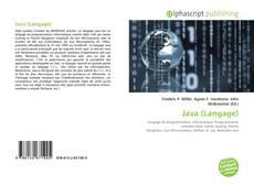 Couverture de Java (Langage)