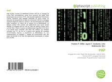 Bookcover of PHP