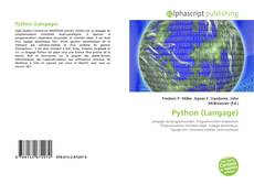 Bookcover of Python (Langage)