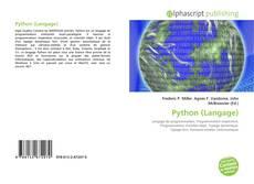 Python (Langage) kitap kapağı